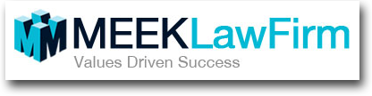 meek law firm logo